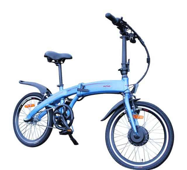 Eco Voltz Gravity Blue Electric Bike Chesterfield