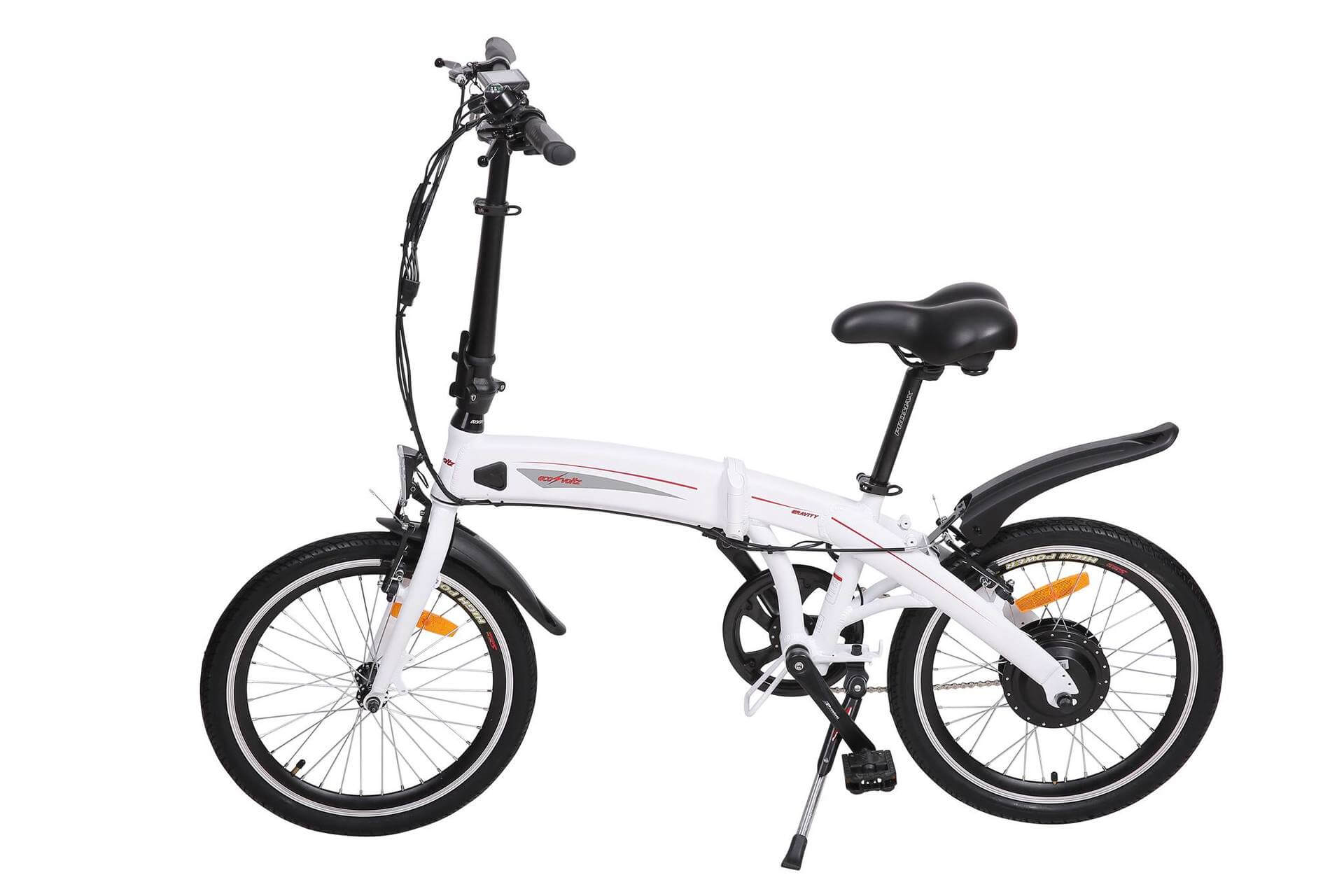 Eco Voltz Gravity Electric Bike Chesterfield Side View