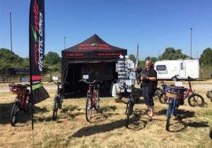 Eco Voltz Caravan Show Electric Bike Event