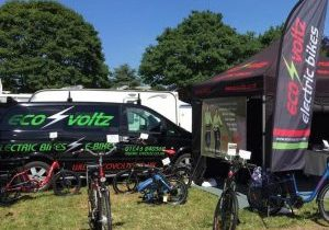 Eco Voltz Motorhome Expo Electric Bikes Event